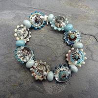 LoriandKim Beads - Shoreline Lens Lentils