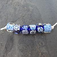LoriandKim Beads - Indigo Rollers