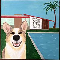 MCM Happy Pup in the Sun